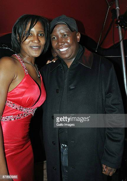 Dudu Zuma and ANC Youth League leader Julius Malema celebrate Dudu's 27th Birthday at the upmarket Inanda Club on 19 May 2009 in Sandton South Africa...