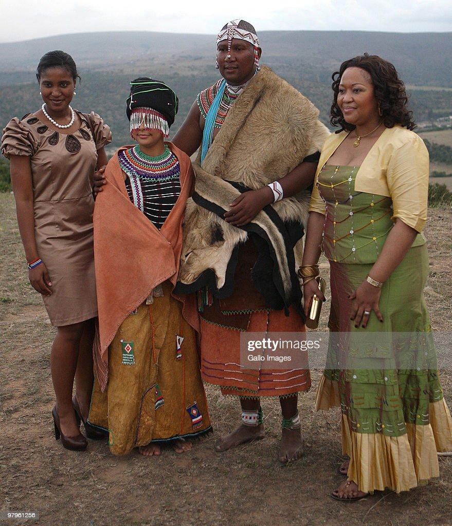 Duduzile Zuma And Thobeka Madiba With Mandla Mandela And