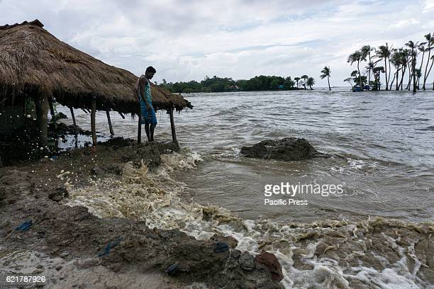 Due to sea level rise many islands in the gangetic delta region of West Bengal India are facing fast erosion The island of Mousuni is one such island...