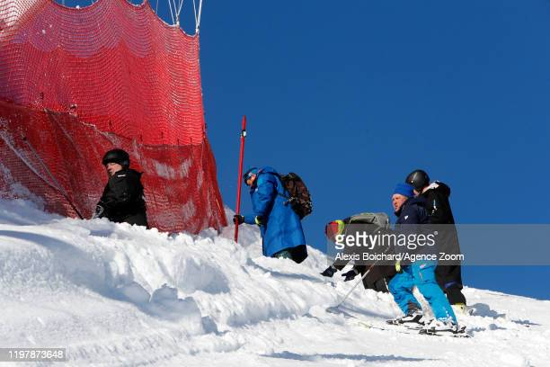 Due to the course condition the jury have decided to canceled the race during the Audi FIS Alpine Ski World Cup Women's Downhill on February 1, 2020...