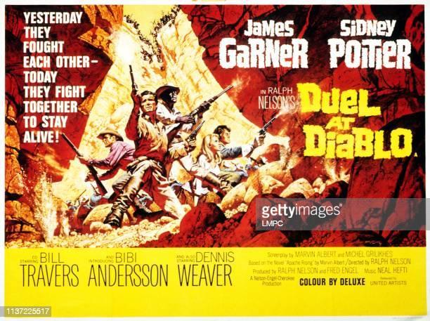 Dennis Weaver James Garner Sidney Poitier Bibi Andersson Bill Travers 1966