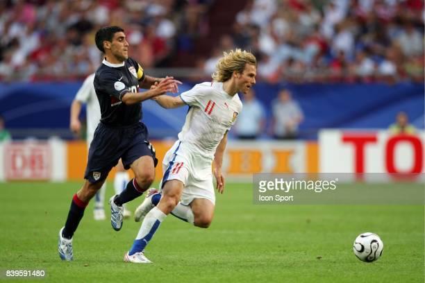 Duel Claudio REYNA / Pavel NEDVED Republique Tcheque / Etats Unis Coupe du Monde 2006