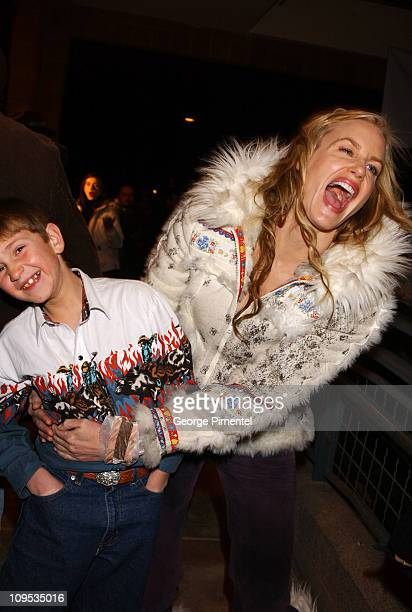 Duel Farnes and Daryl Hannah during 2003 Sundance Film Festival 'Northfork' Premiere at Eccles in Park City Utah United States