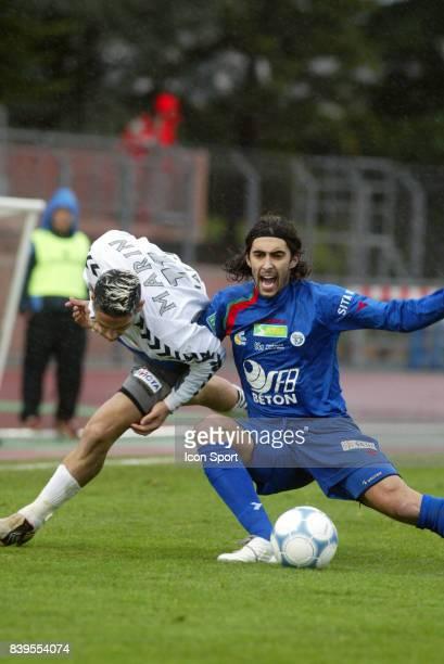 Duel Nicolas MARIN / Mario LOJA - Creteil / Sedan - - 31eme journee de Ligue 2 -