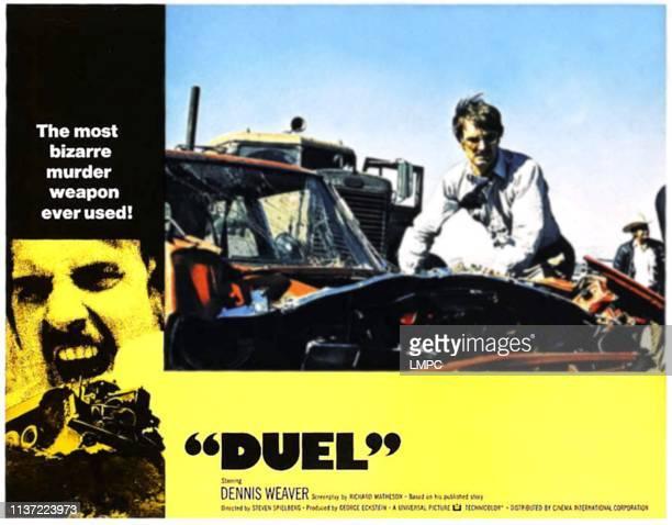 Duel poster Dennis Weaver 1971