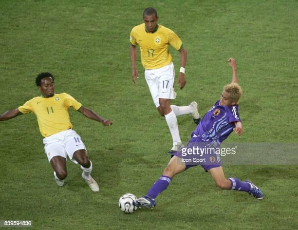 Duel ZE ROBERTO / Junichi INAMOTO Bresil / Japon Coupe du Monde 2006