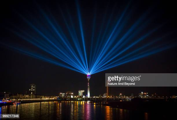 duesseldorf - laser stock pictures, royalty-free photos & images