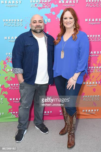 Duff Goldman and Ree Drummond attend Hearst Magazines' Unbound Access MagFront at Hearst Tower on October 17, 2017 in New York City.