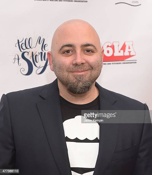 Duff Goldman attends 826LA's 10th Anniversary Gala at Santa Monica Bay Woman's Club on June 16 2015 in Santa Monica California