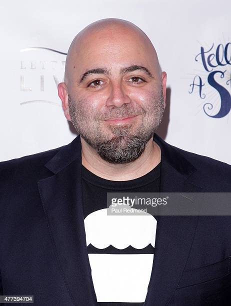 Duff Goldman attends 826LA's 10th Birthday Celebration on June 16 2015 in Santa Monica California