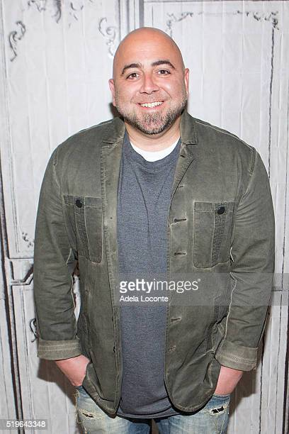 Duff Goldman attends 'Cake Masters' AOL Studios In New York on April 7 2016 in New York City