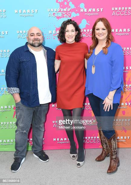 Duff Goldman, Editor in Chief of Food Network Magazine Maile Carpenter and Ree Drummond attend Hearst Magazines' Unbound Access MagFront at Hearst...