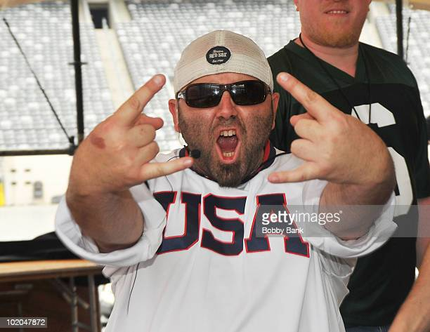 Duff Goldman of Ace of Cakes attends the 2010 Great American Food Music Fest at the New Meadowlands Stadium on June 13 2010 in East Rutherford New...
