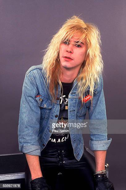 Duff McCagan of Guns And Roses at the UIC Pavillion in Chicago Illinois August 21 1987