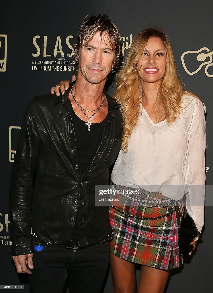 Duff McKagan and Susan Holmes attend the Slash Featuring Myles Kennedy & The Conspirators In Concert on September 25, 2014, in West Hollywood, California.
