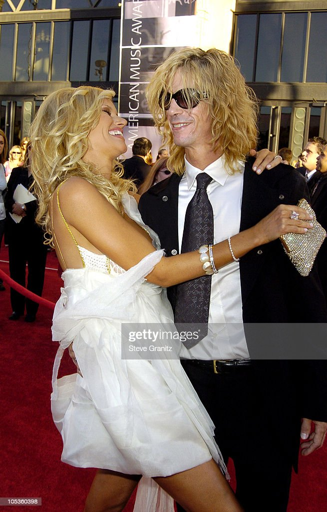 Duff McKagan and wife Susan Holmes during 32nd Annual