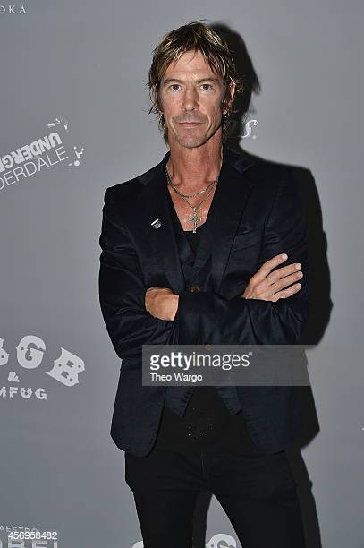 Duff McKagan attends CBGB Music Film Festival 2014 HQ Kickoff event with Keynote Speaker Billy Idol on October 9 2014 in New York City