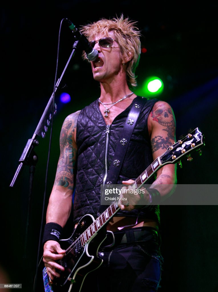 Duff McKagan of Loaded performs at day one of the Download Festival at Donington Park on June 12, 2009 in Castle Donington, England.