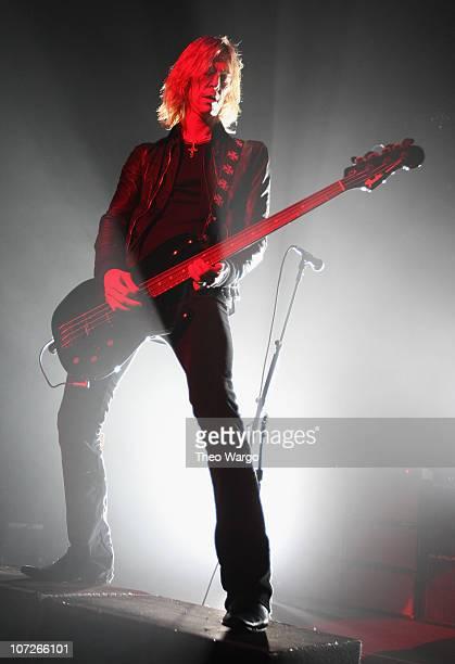 Duff McKagan of Velvet Revolver in concert on New Year's Eve 2008 at Hammerstein Ballroom in New York City