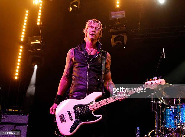 Duff McKagan of Walking Papers performs on Day 1 of the Calling Festival at Clapham Common on June 28 2014 in London England