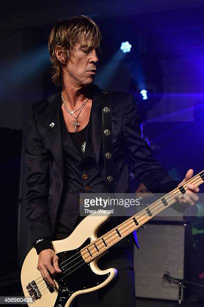 Duff McKagan of Walking Papers performs onstage at CBGB Music Film Festival 2014 HQ Kickoff event with Keynote Speaker Billy Idol on October 9 2014...