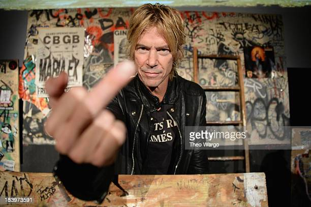Duff McKagan poses during CBGB Music Film Festival on October 10 2013 in New York City