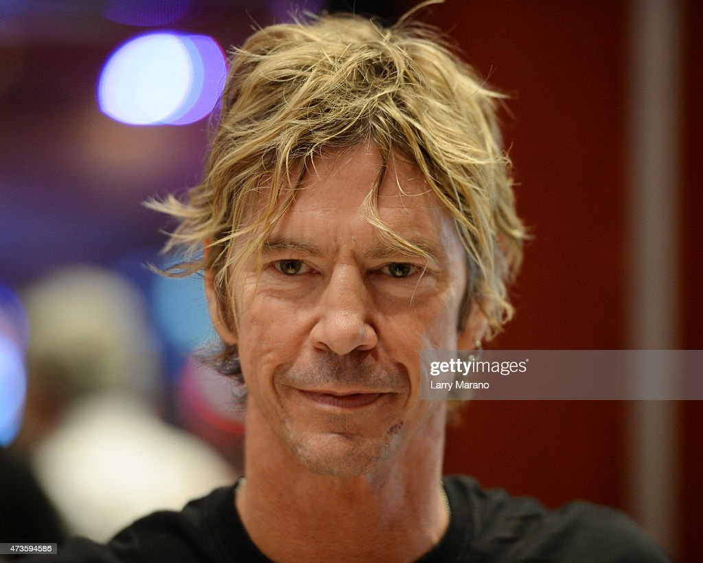 Duff McKagan Book Signing At Hard Rock Cafe