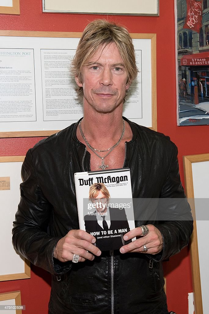 "Duff McKagan Signs Copies Of ""How To Be A Man"""