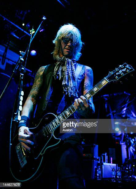 Duff McKagan's Loaded ExGuns'n'Roses and Velvet Revolver bassist's Seatte based band played in Islington Academy London 18th September 2008 51356 Non...
