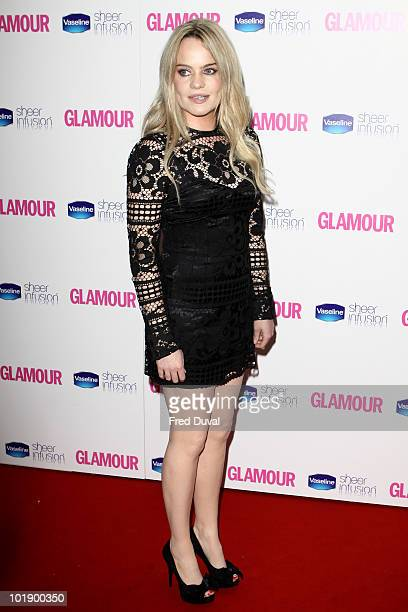 Duffy attends the Glamour Women of the Year awards at Berkeley Square Gardens on June 8 2010 in London England