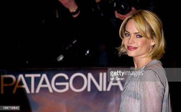 Duffy attends the Patagonia UK Film Premiere at the Odeon Covent Garden on March 2 2011 in London England