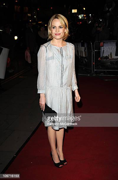 Duffy attends the UK premiere of Patagonia at Odeon Covent Garden on March 2 2011 in London England