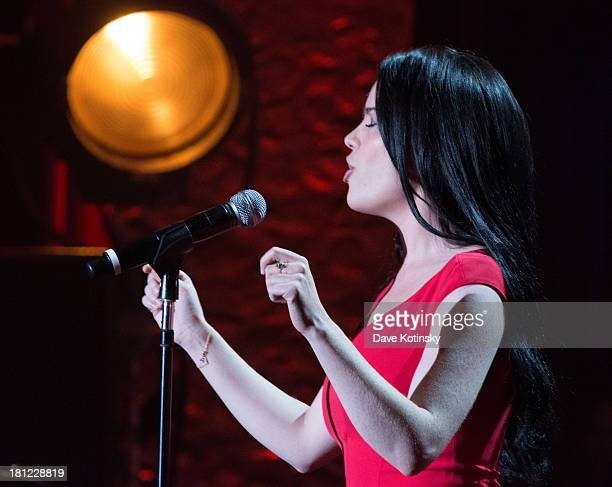 Duffy performs during Francofolies New York A Tribute To Edith Piaf at Beacon Theatre on September 19 2013 in New York City