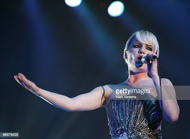 Duffy performs live on day 1 of the North Sea Jazz Festival at Ahoy on July 10, 2009 in Rotterdam, Netherlands.