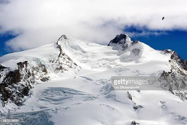 dufourspitze - monte rosa foto e immagini stock