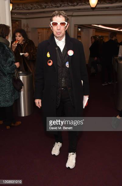 Duggie Fields attends the press night performance of Madam Butterfly part of the English National Opera's 2019/20 season at The London Coliseum on...