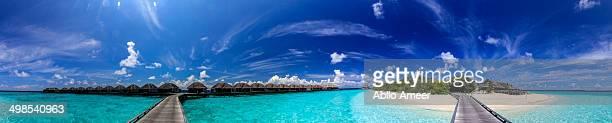Duist Thani Maldives - Ocean Villa Panorama