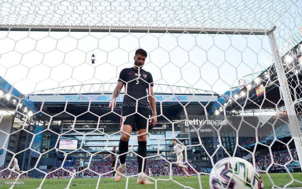 Croatia v Spain - UEFA Euro 2020: Round of 16 : News Photo