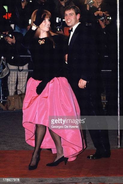 Duke and Duchess of York Sarah Ferguson and Prince Andrew on February 11 1989 in London England