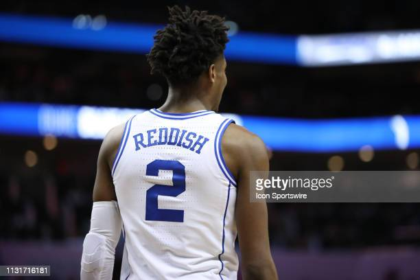 Duke Blue Devils forward Cam Reddish during the 2nd half of the ACC Tournament championship game with the Duke Blue Devils versus the Florida State...