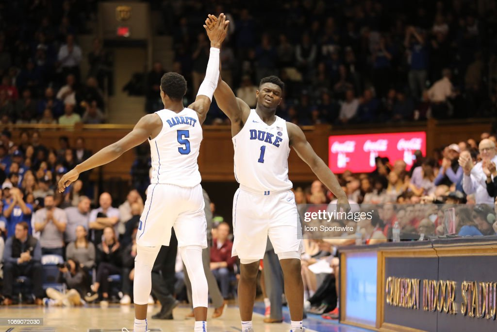 COLLEGE BASKETBALL: DEC 05 Hartford at Duke : News Photo