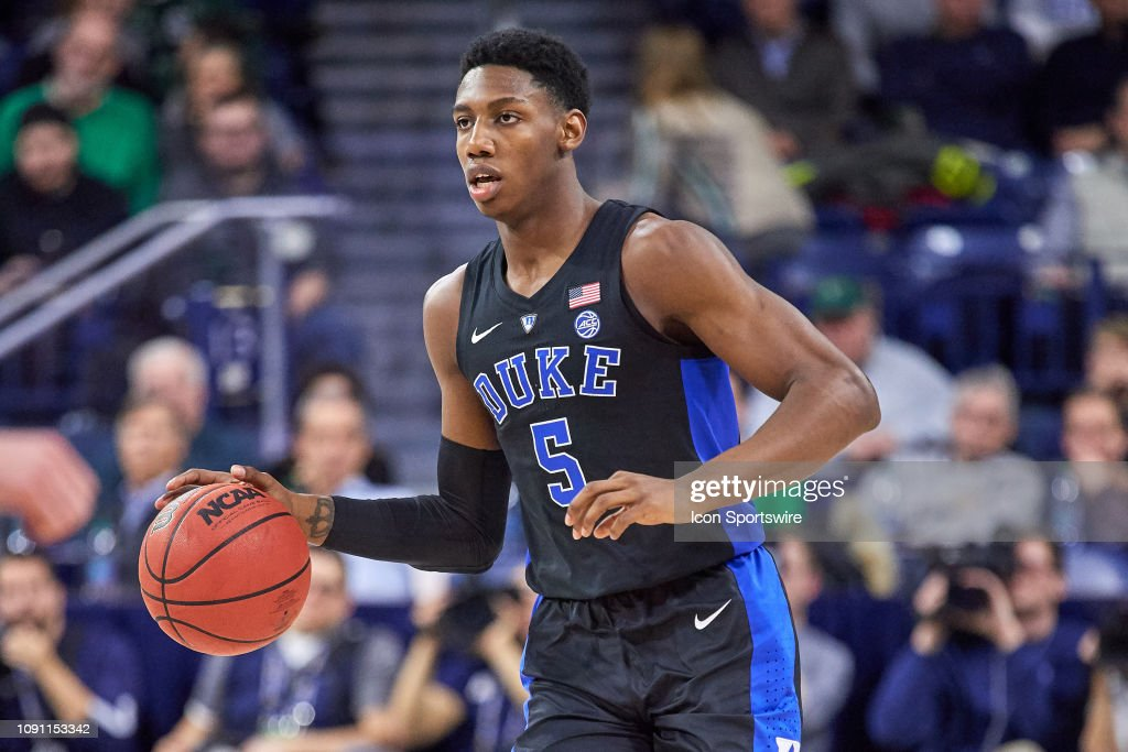 COLLEGE BASKETBALL: JAN 28 Duke at Notre Dame : News Photo