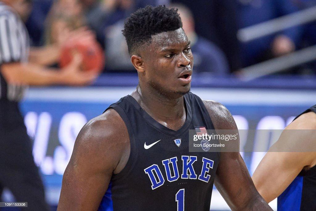 COLLEGE BASKETBALL: JAN 28 Duke at Notre Dame : News Photo