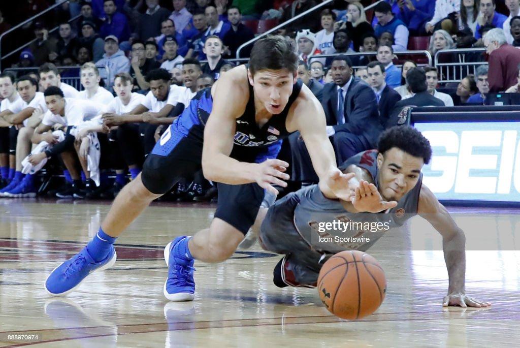 COLLEGE BASKETBALL: DEC 09 Duke at Boston College : News Photo