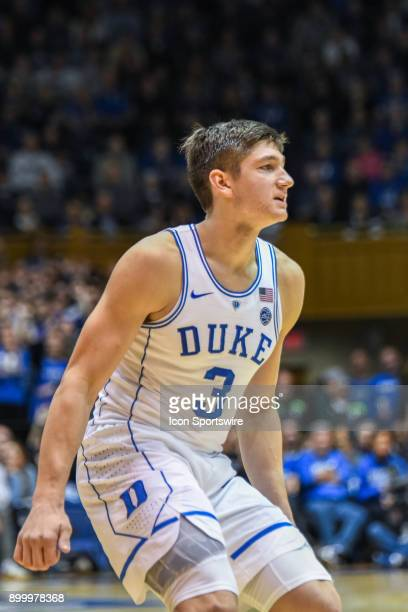 Duke Blue Devils guard Grayson Allen during the men's college basketball game between the Florida State Seminoles and the Duke Blue Devils on...