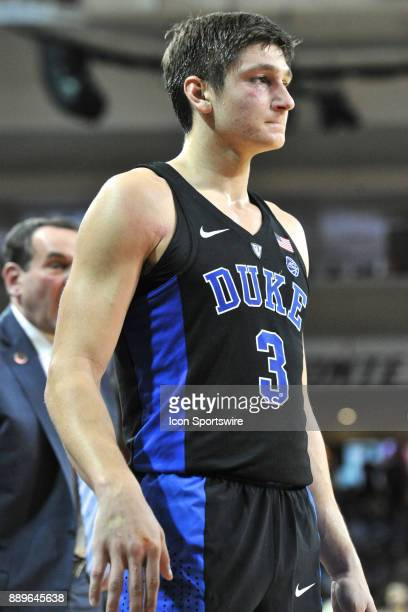 HILL MA Duke Blue Devils guard Grayson Allen had a rough game with the start of a shiner on his eye and a cut on his hand During the Duke Blue Devils...