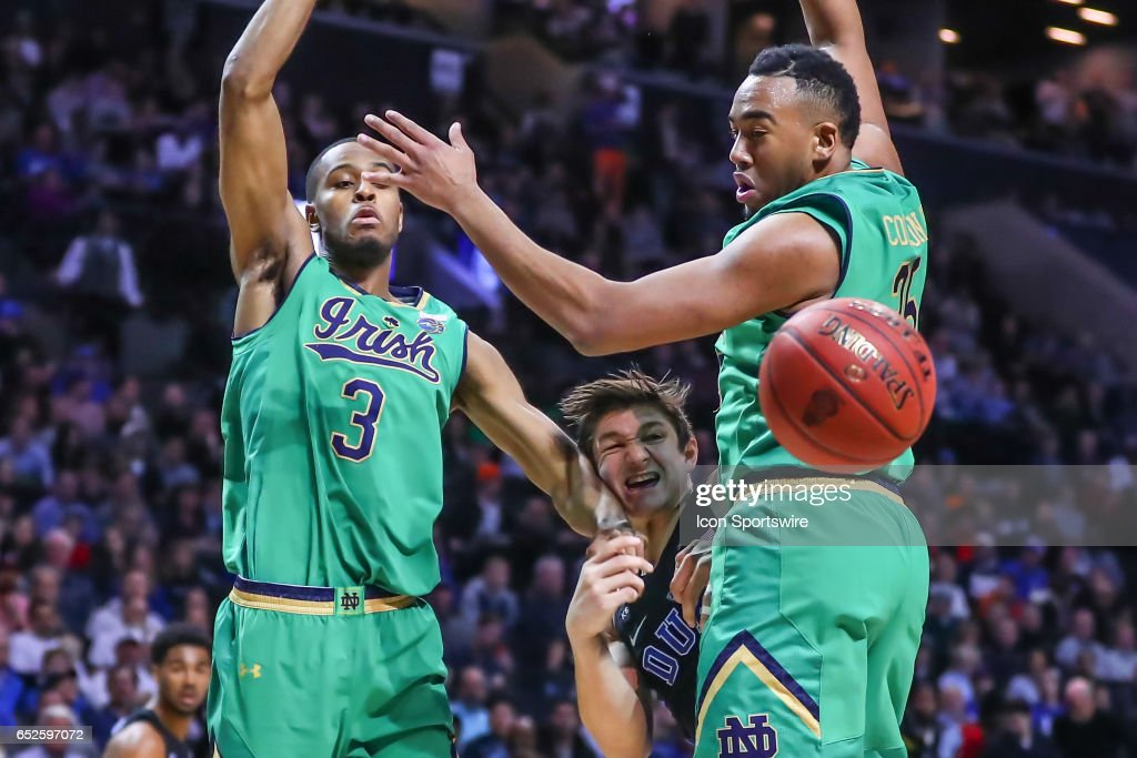 COLLEGE BASKETBALL: MAR 11 ACC Tournament - Notre Dame v Duke : News Photo