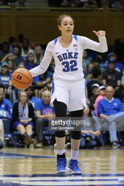 Duke Blue Devils guard Jayda Adams during the 1st half of the Women's Duke Blue Devils game versus the Women's North Carolina Tar Heels on February...