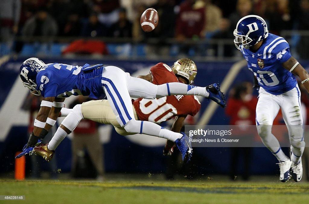 ACC Championship: Duke v. Florida State : News Photo