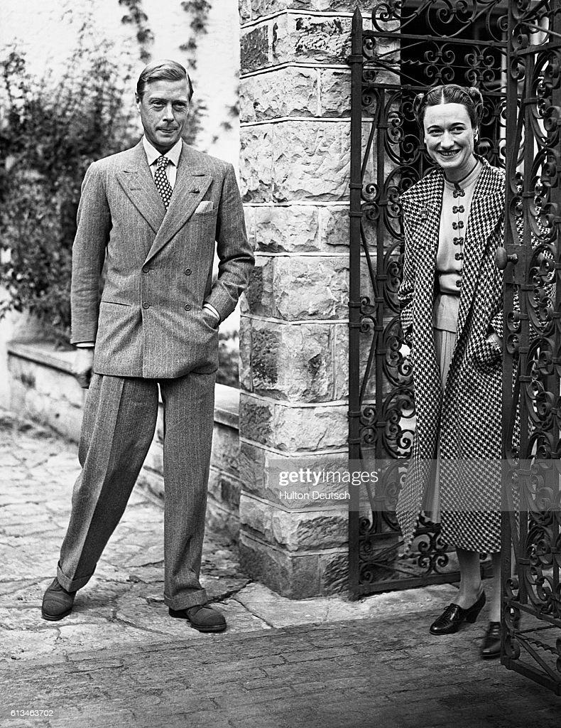 Duke and Duchess of Windsor : News Photo